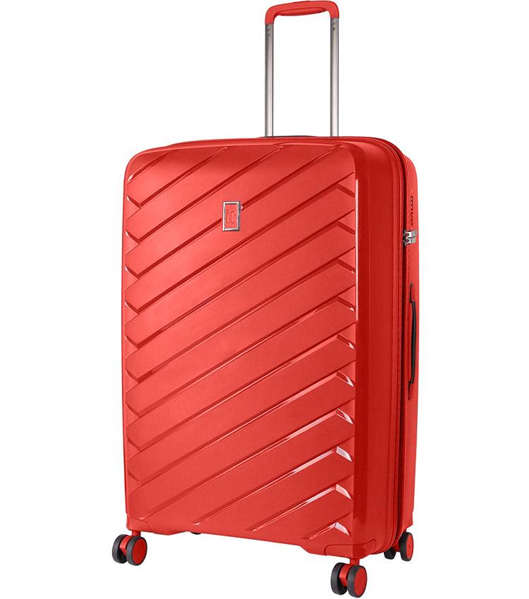 Большой чемодан IT Luggage Influential 15-2588-08 (79 см) - Hot coral