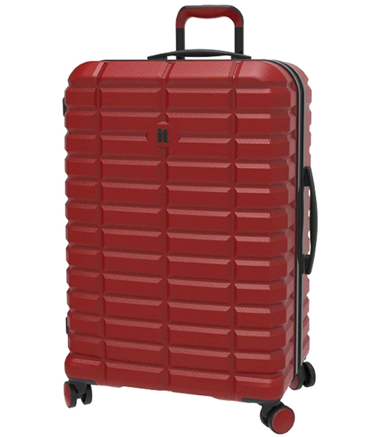 Большой чемодан IT Luggage Uphold 16-2432-08 (83 см) - Ribbon red