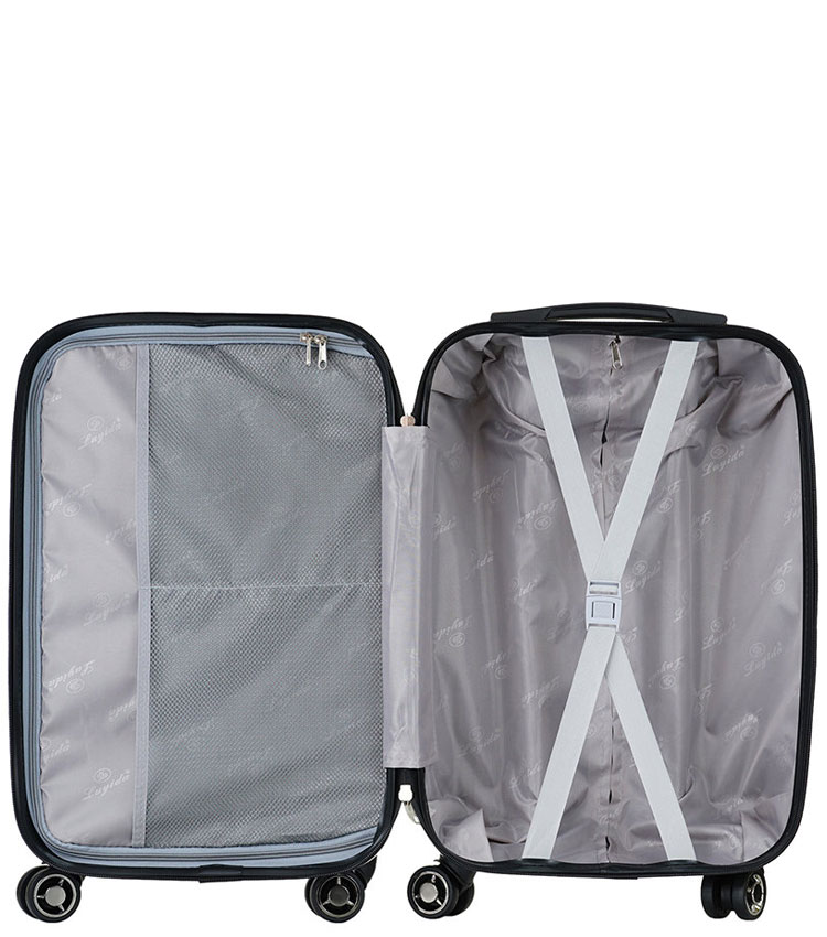Большой чемодан спиннер Lcase I LOVE THE WORLD (72 см)
