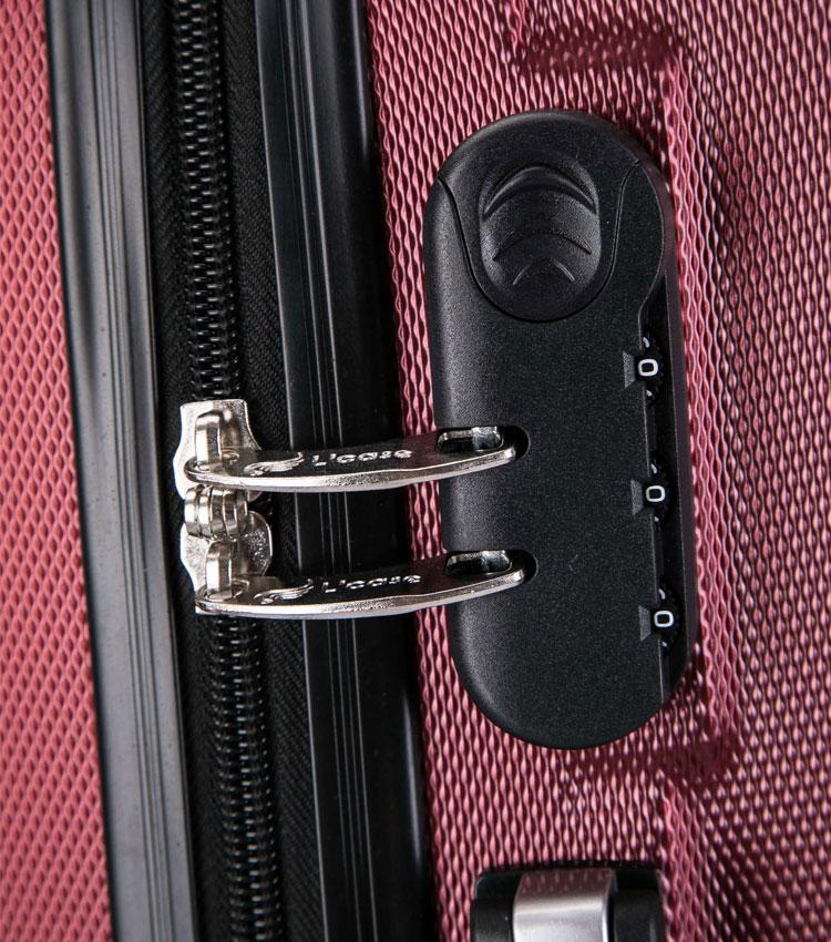 Большой чемодан спиннер Lcase Krabi Dark blue (72 см)