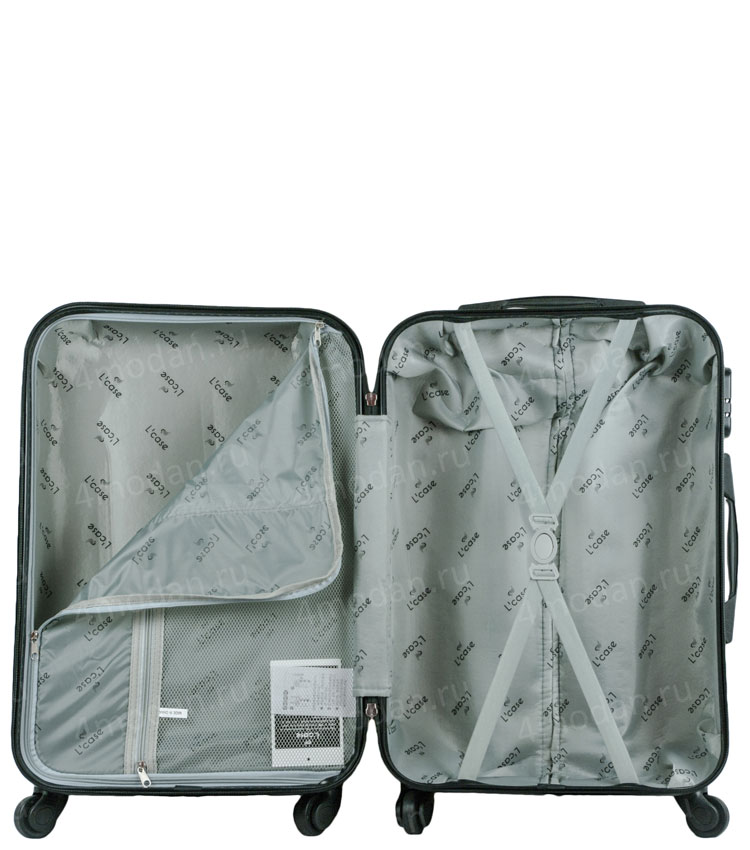 Большой чемодан спиннер Lcase LONDON BUS (72 см)