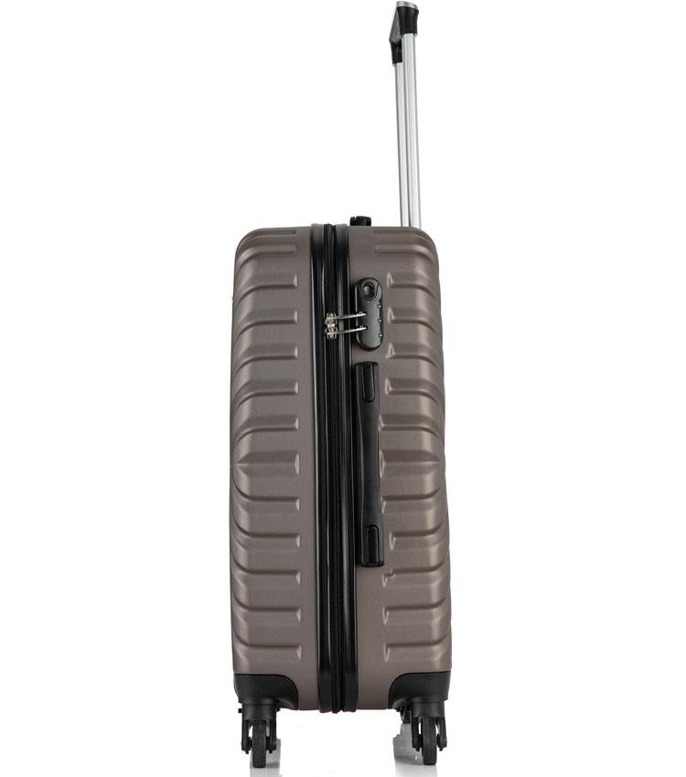 Большой чемодан спиннер Lcase New-Delhi coffee (71 см)