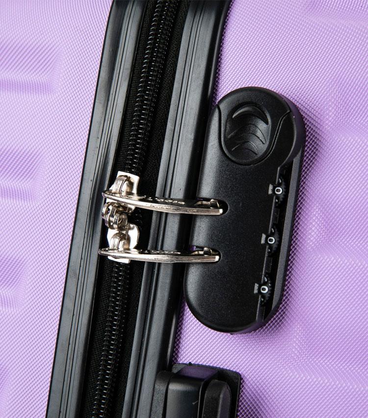 Средний чемодан спиннер Lcase New-Delhi red wine (61 см)
