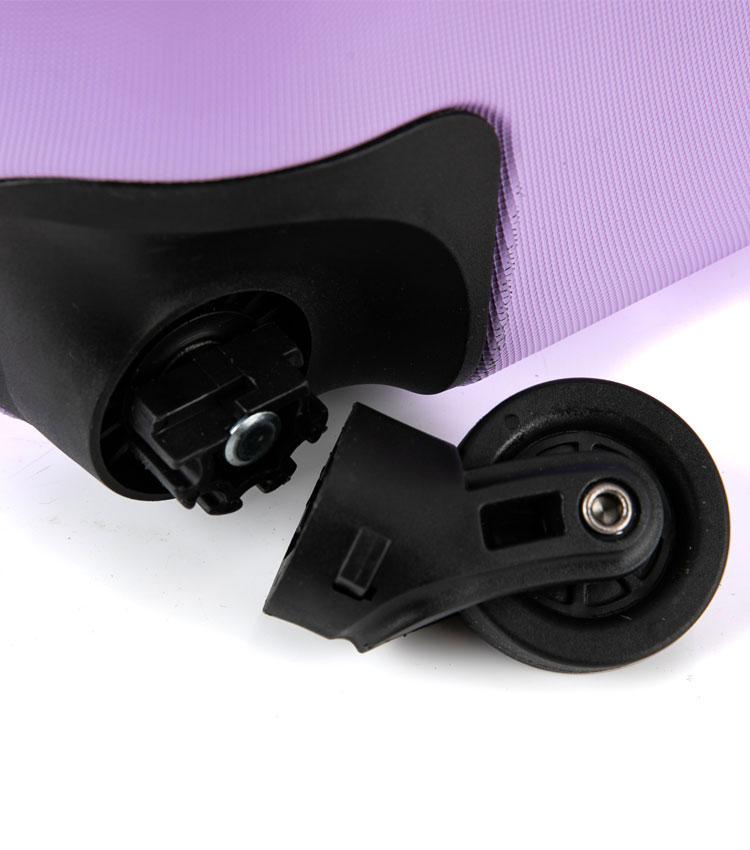 Большой чемодан спиннер Lcase New-Delhi light purpule (71 см)
