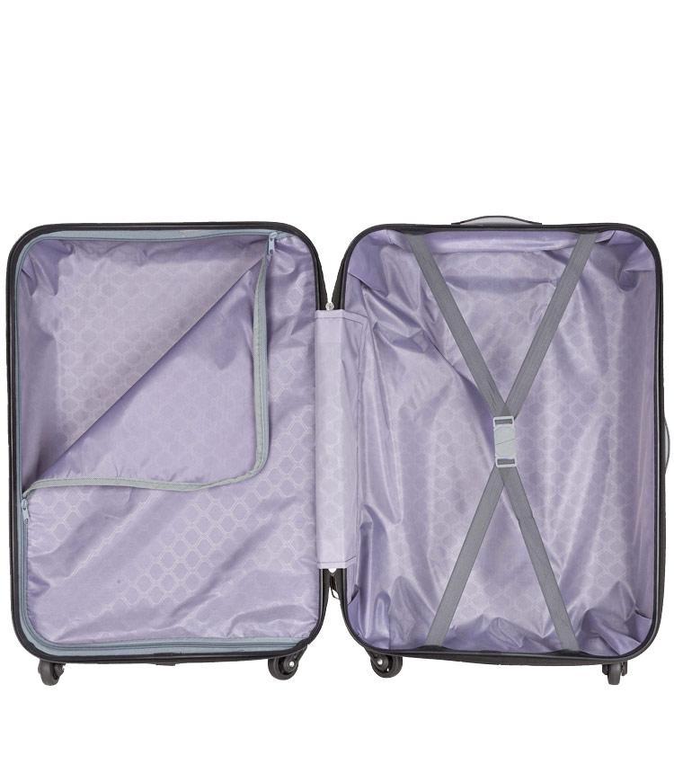 Малый чемодан-спиннер Polar РА072 blue (55 см)