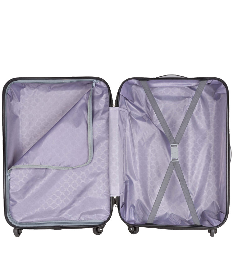 Малый чемодан-спиннер Polar РА072 burgundy (55 см)