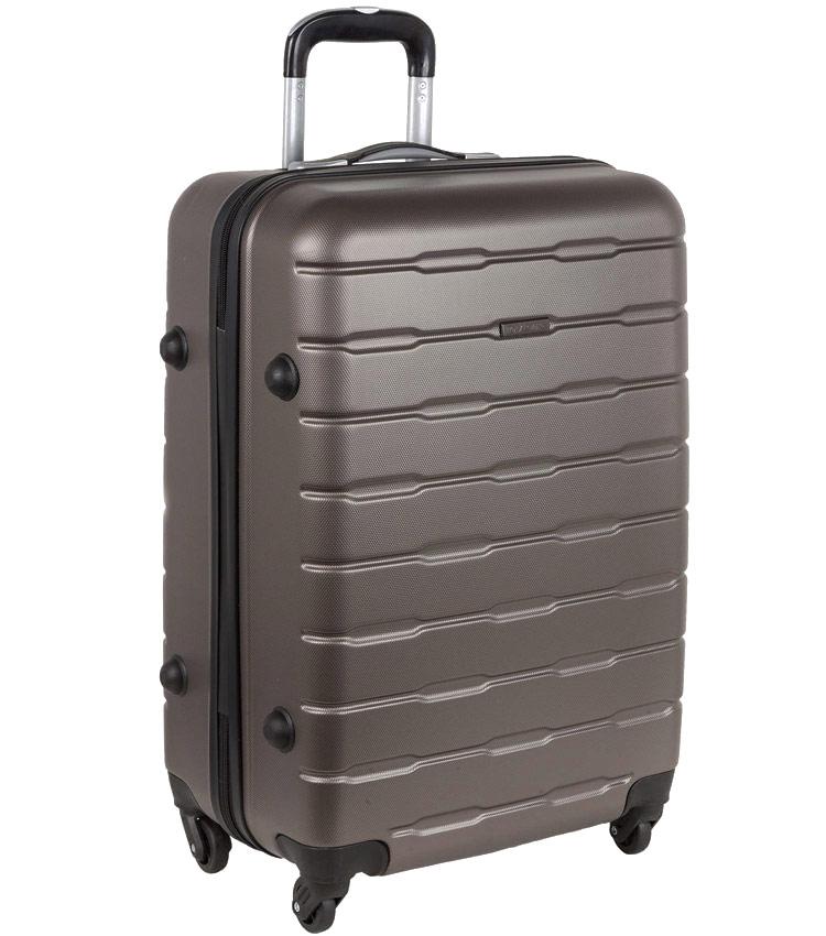 Большой чемодан-спиннер Polar РА072 dark grey (74 см)