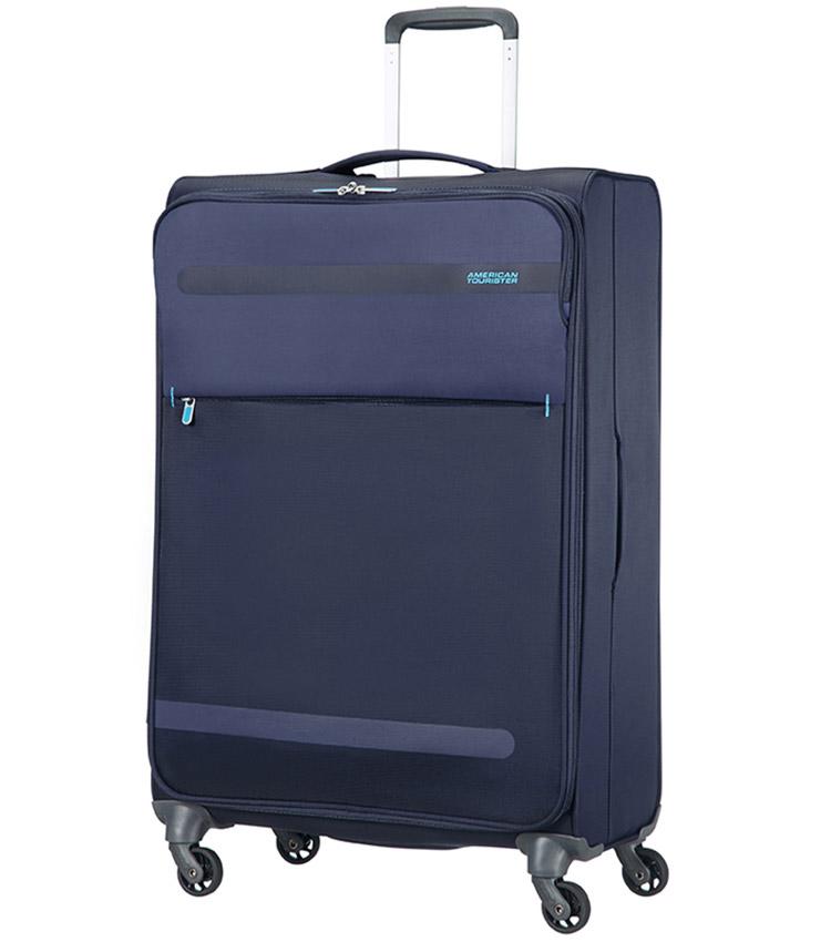 Большой чемодан American Tourister 26G*01006 Herolite (74 см) - Midnight Blue