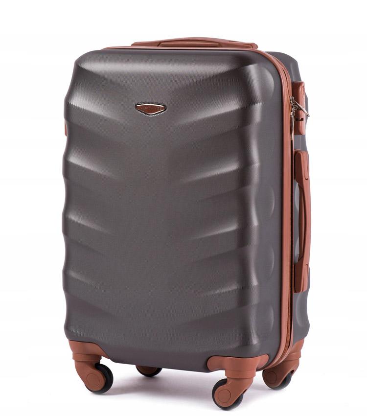 Большой чемодан Wings Albatross 402-5 - Dark grey (75 см)