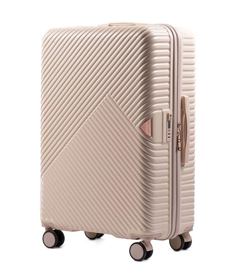 Большой чемодан Wings Dove WN01-4 - Dirty White (78 см)