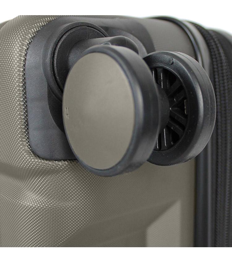 Большой чемодан IT Luggage Uphold 16-2432-08 (83 см) - Dark grey