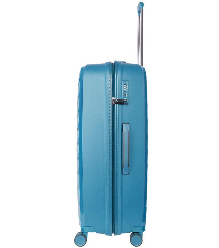 Большой чемодан IT Luggage Influential 15-2588-08 (79 см) - Blue