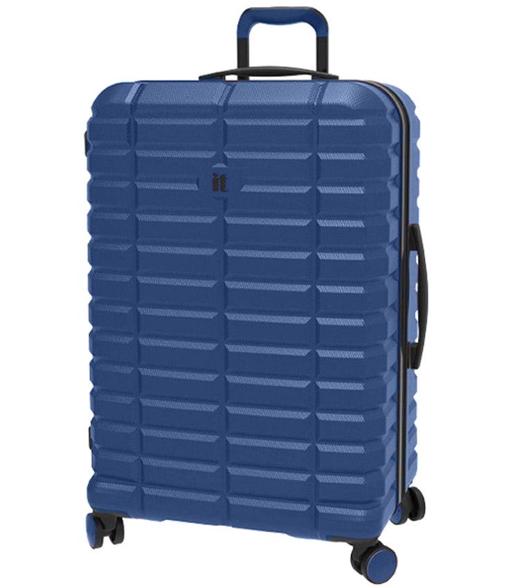Большой чемодан IT Luggage Uphold 16-2432-08 (83 см) - Middle blue