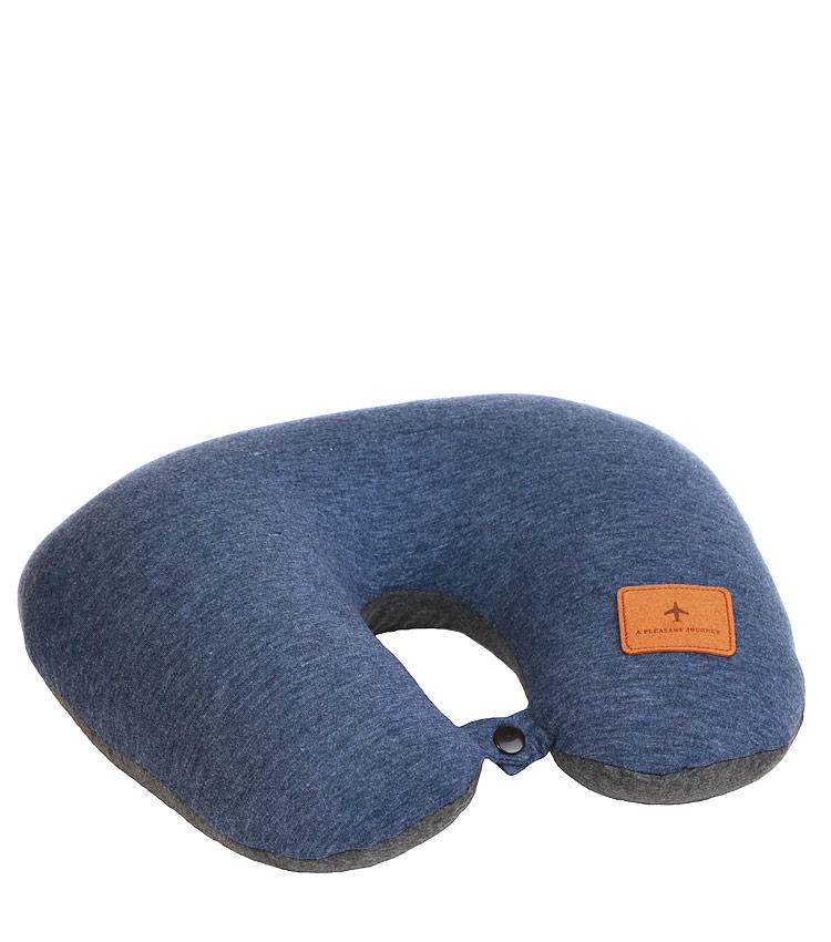 Дорожная подушка Travel Pillow Barrel 2 in 1 blue