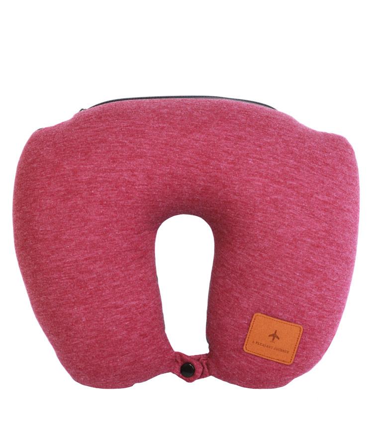 Дорожная подушка Travel Pillow Barrel 2 in 1 red