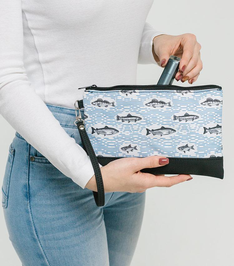 Косметичка Vokladki «Рыбки»