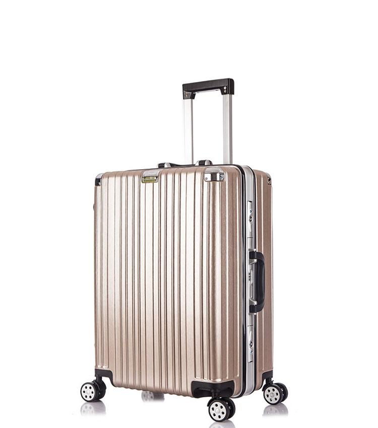 Малый чемодан спиннер Lcase Abu Dhabi gold (58 см)