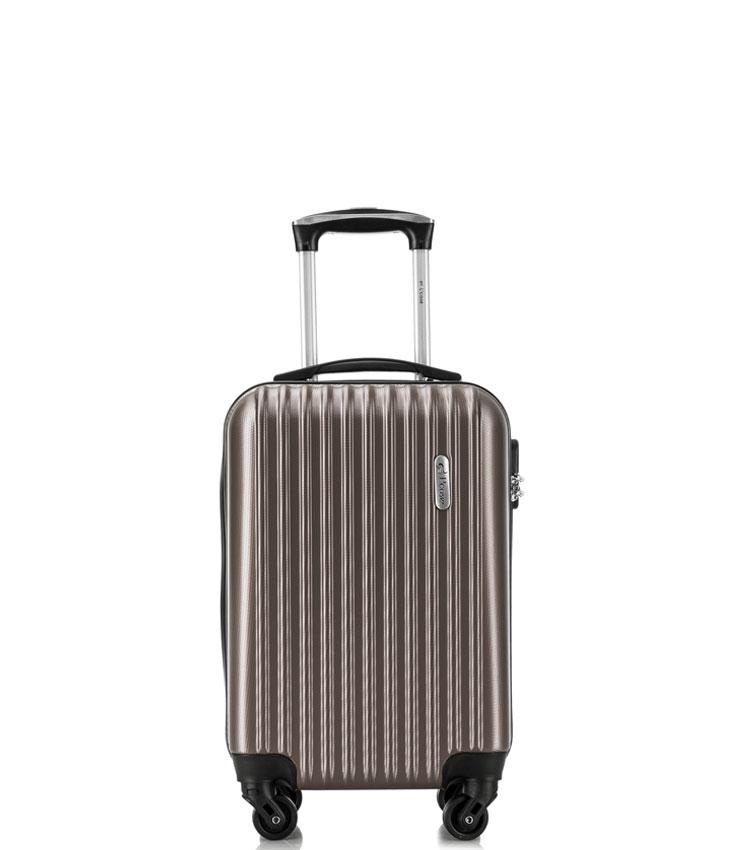Малый чемодан спиннер Lcase Krabi Coffee (54 см)