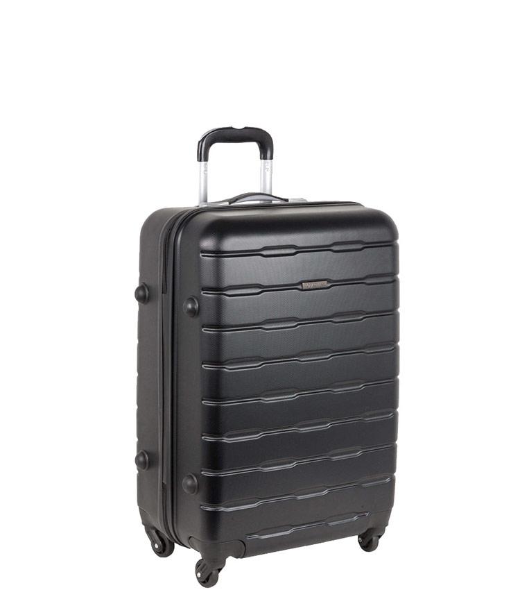 Малый чемодан-спиннер Polar РА072 black (55 см)