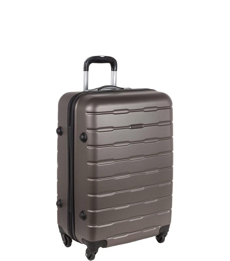 Малый чемодан-спиннер Polar РА072 dark grey (55 см)