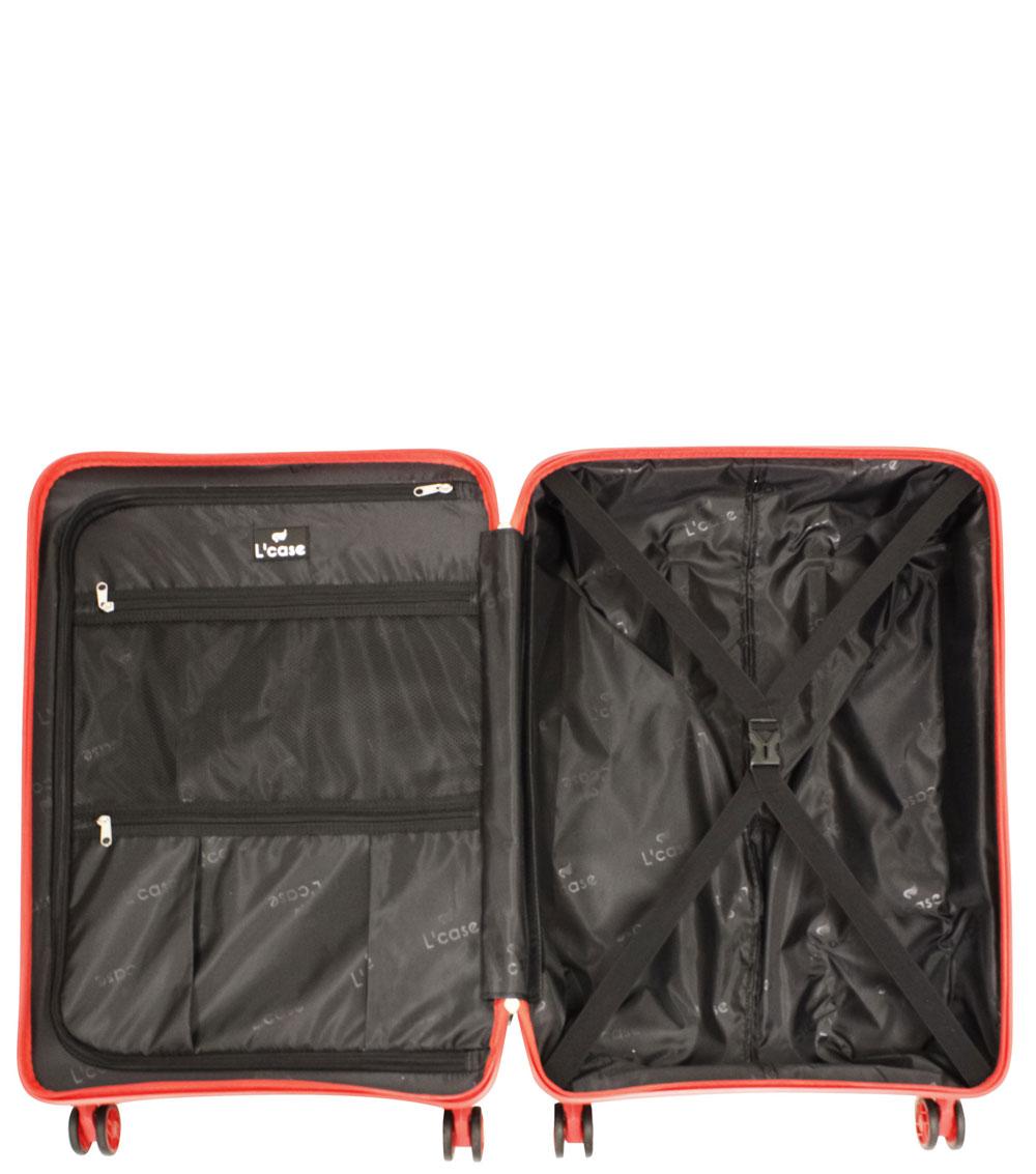 Малый чемодан L-case Berlin black ~ручная кладь~