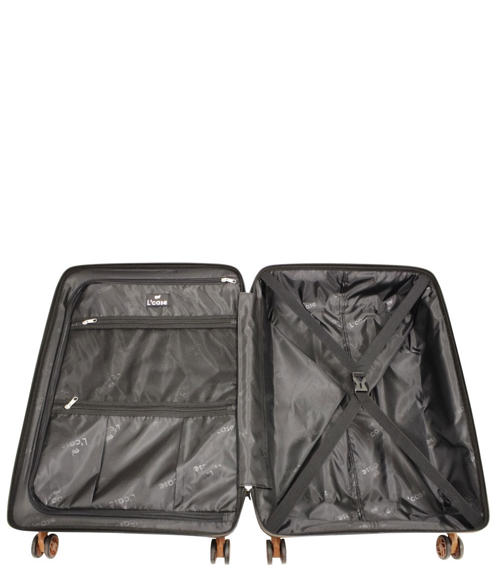 Малый чемодан L-case Berlin gray ~ручная кладь~