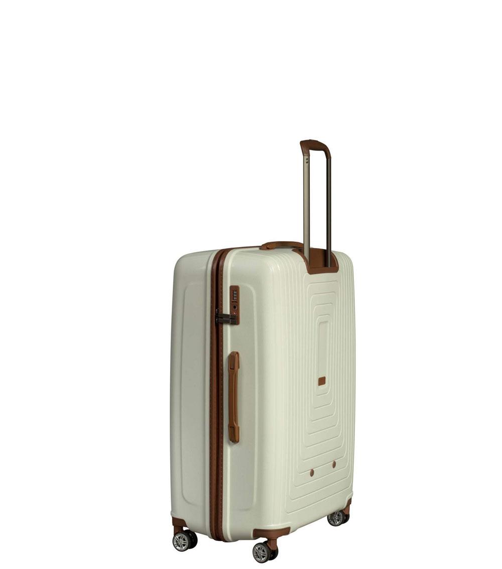 Малый чемодан L-case Moscow white ~ручная кладь~