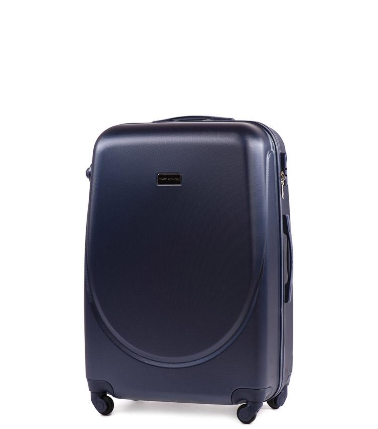 Малый чемодан Wings Goose 310-4 - Blue (55 см)