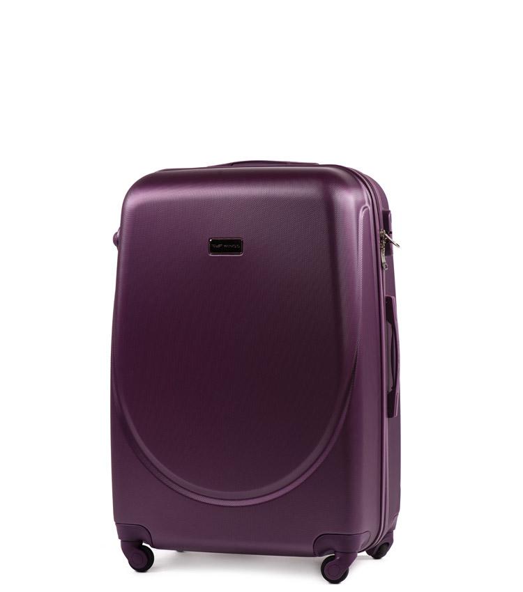 Малый чемодан Wings Goose 310-4 - Dark purple (55 см)