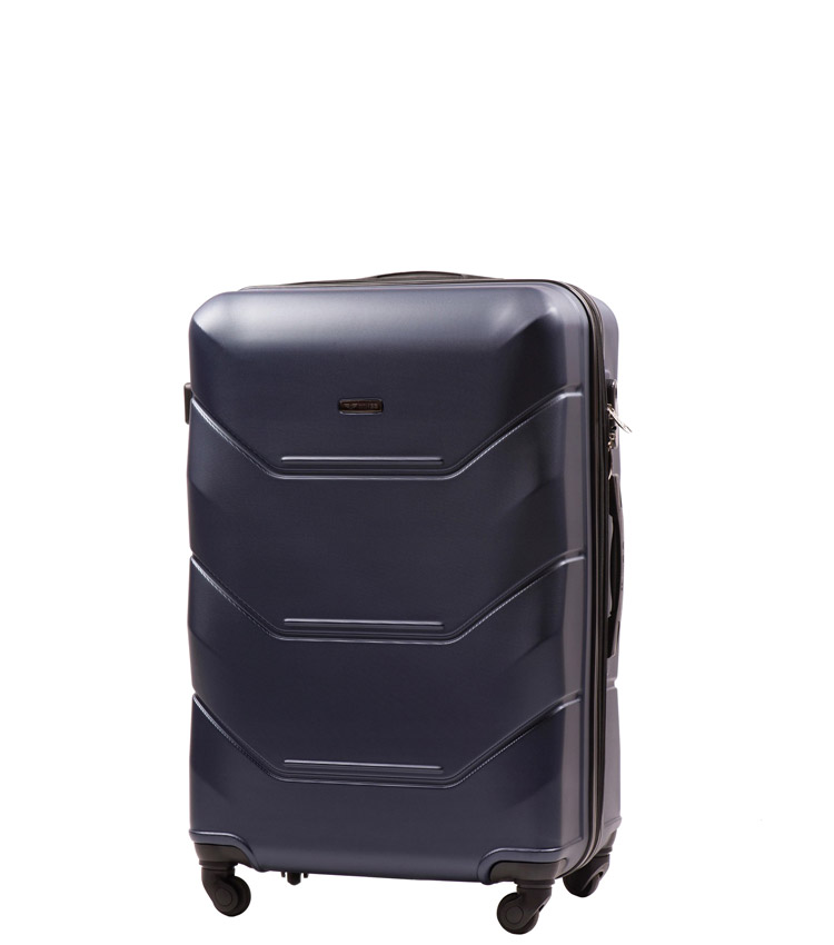 Малый чемодан Wings Peacock 147-4 - Blue (55 см)
