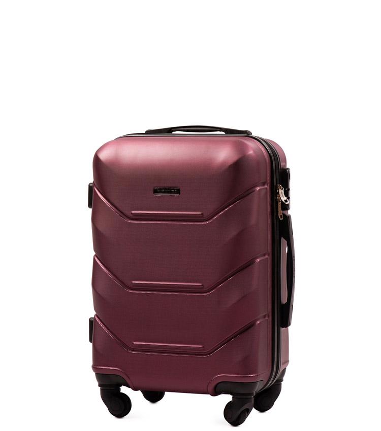 Малый чемодан Wings Peacock 147-4 - Burgundy (55 см)