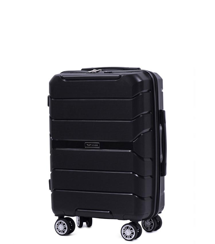 Малый чемодан Wings Sparrow PP05-3 - Black (58 см)