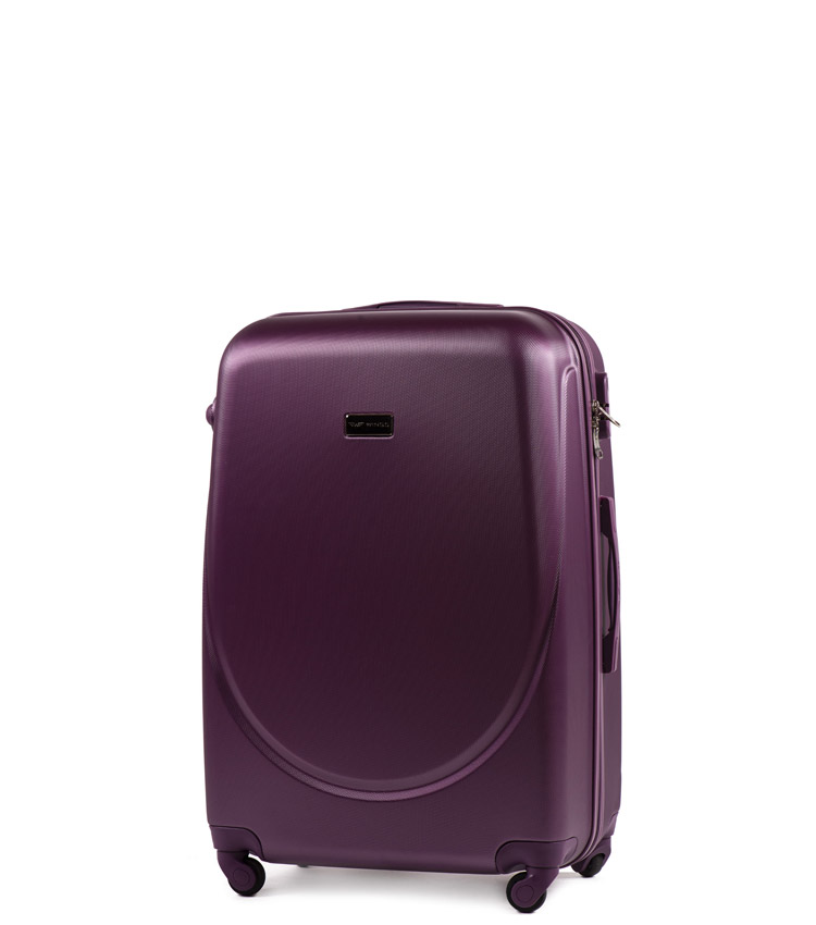 Мини чемодан Wings Goose 310-4 - Dark purple (51 см)