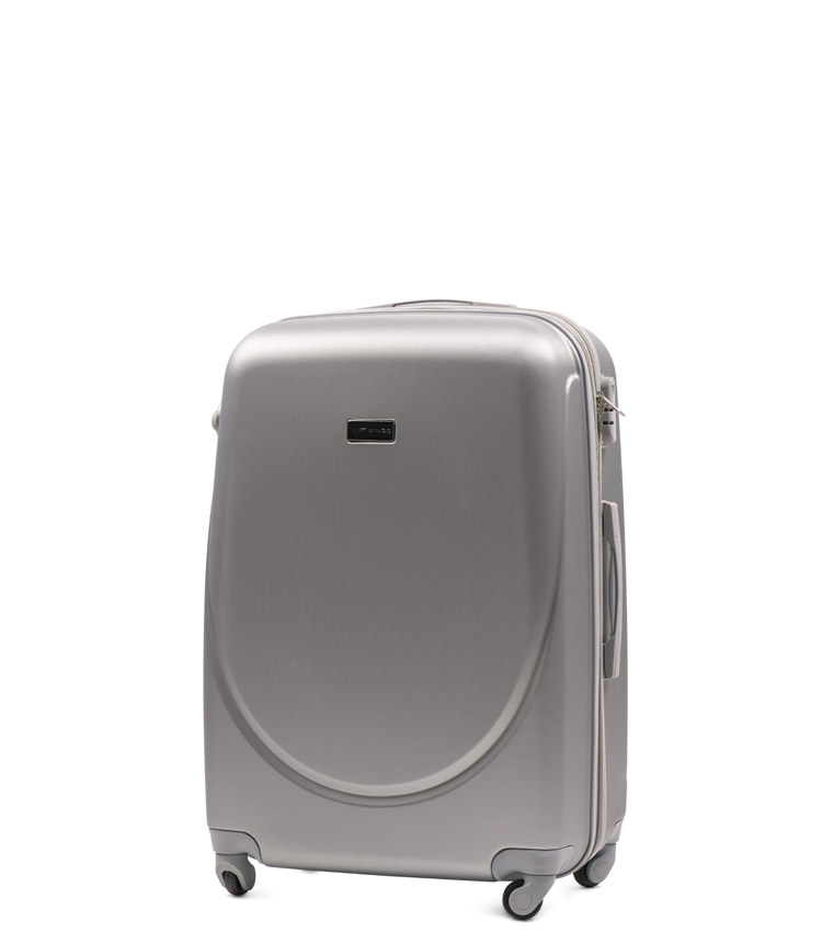 Мини чемодан Wings Goose 310-4 - Silver (51 см)