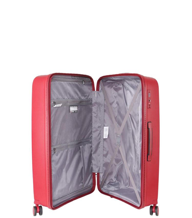 Малый чемодан IT Luggage Influential 15-2588-08 (55 см) - Brick red ~ручная кладь~