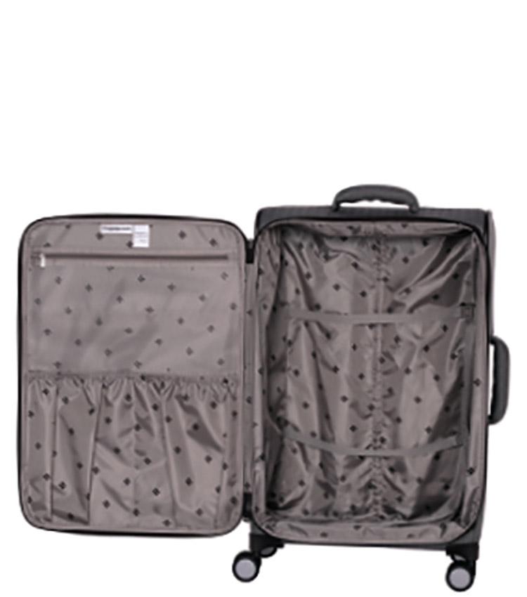 Малый чемодан IT Luggage Esteemed 12-2454-08 (57 см) - Dark beige herringbone