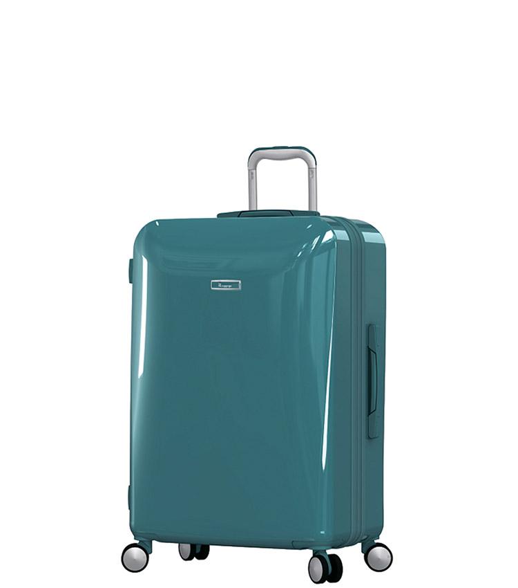 Малый чемодан IT Luggage Sheen 16-2269-08 (55 см) - Harbour blue ~ручная кладь~