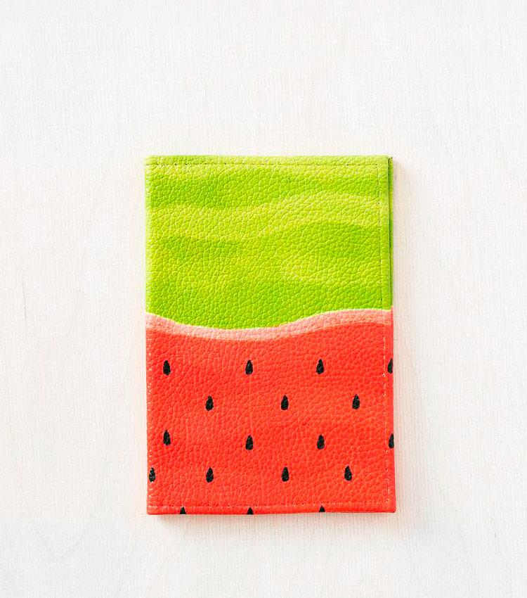 Обложка для паспорта Vokladki «Арбуз»