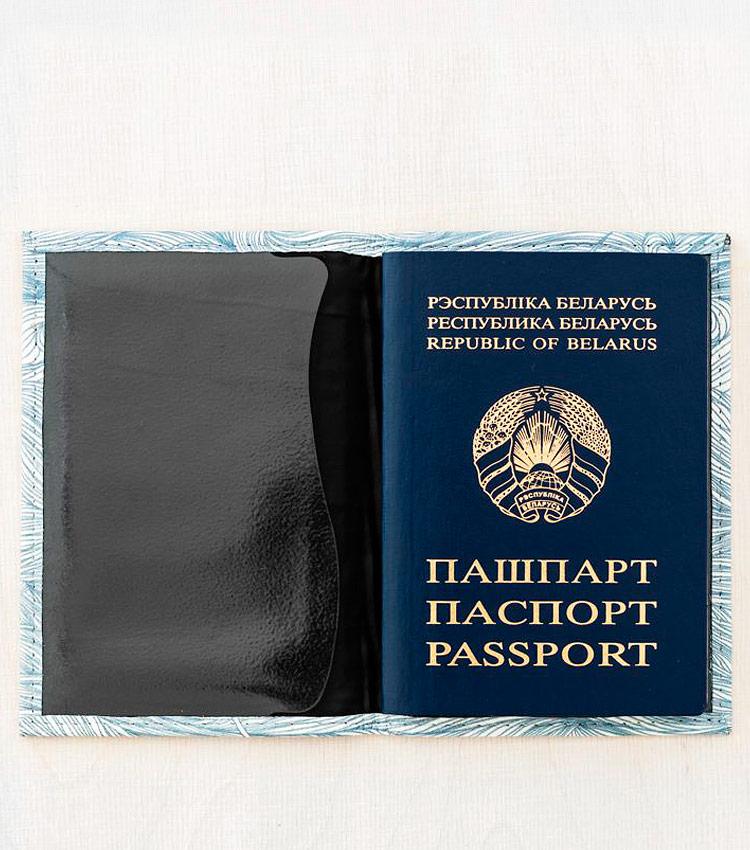 Обложка для паспорта Vokladki «Волны»