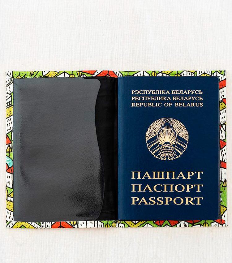 Обложка для паспорта Vokladki «Город»