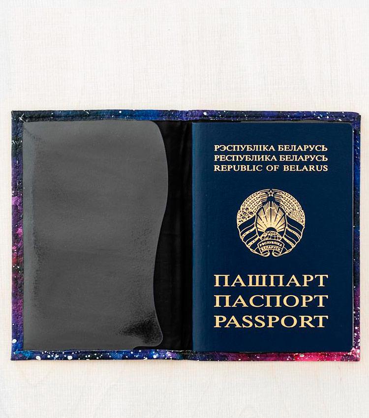 Обложка для паспорта Vokladki «Космос»