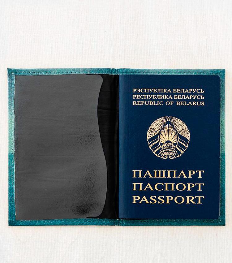 Обложка для паспорта Vokladki «Котик в море»