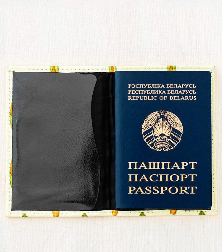Обложка для паспорта Vokladki «Кукуруза»