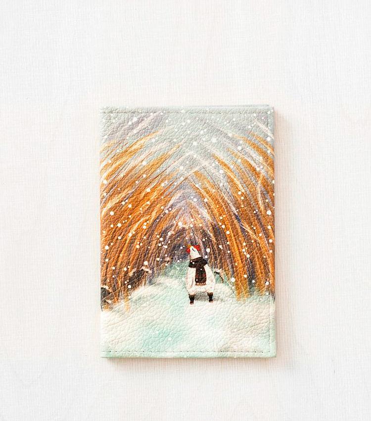 Обложка для паспорта Vokladki «Курочка»