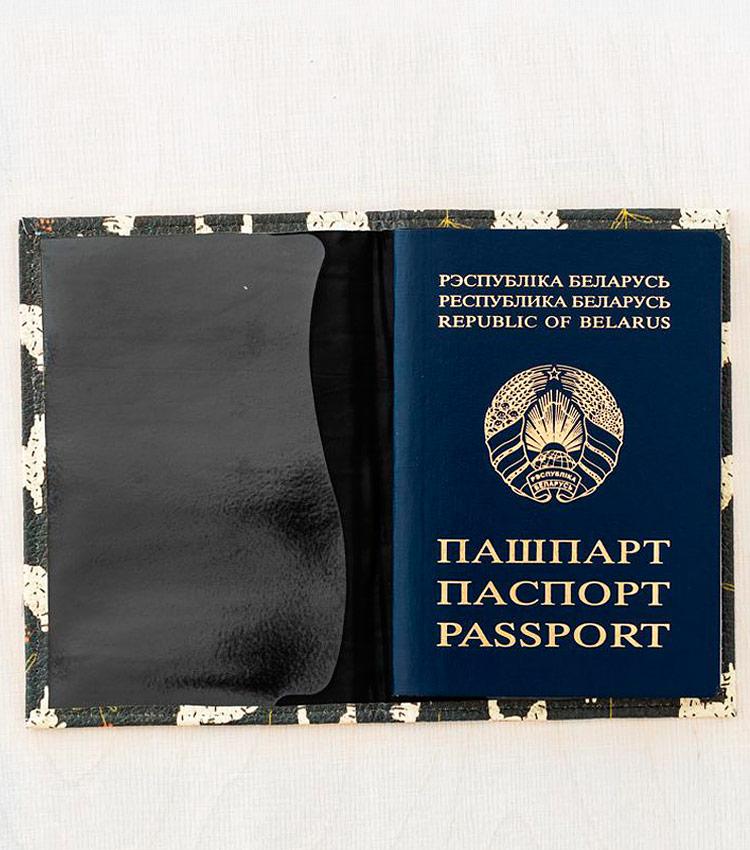 Обложка для паспорта Vokladki «Ламы»