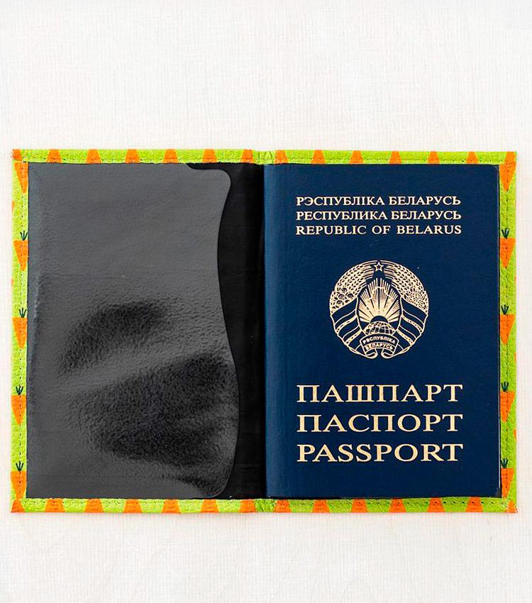 Обложка для паспорта Vokladki «Морковки»