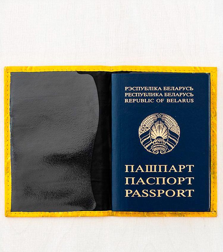 Обложка для паспорта Vokladki «Пшеница»