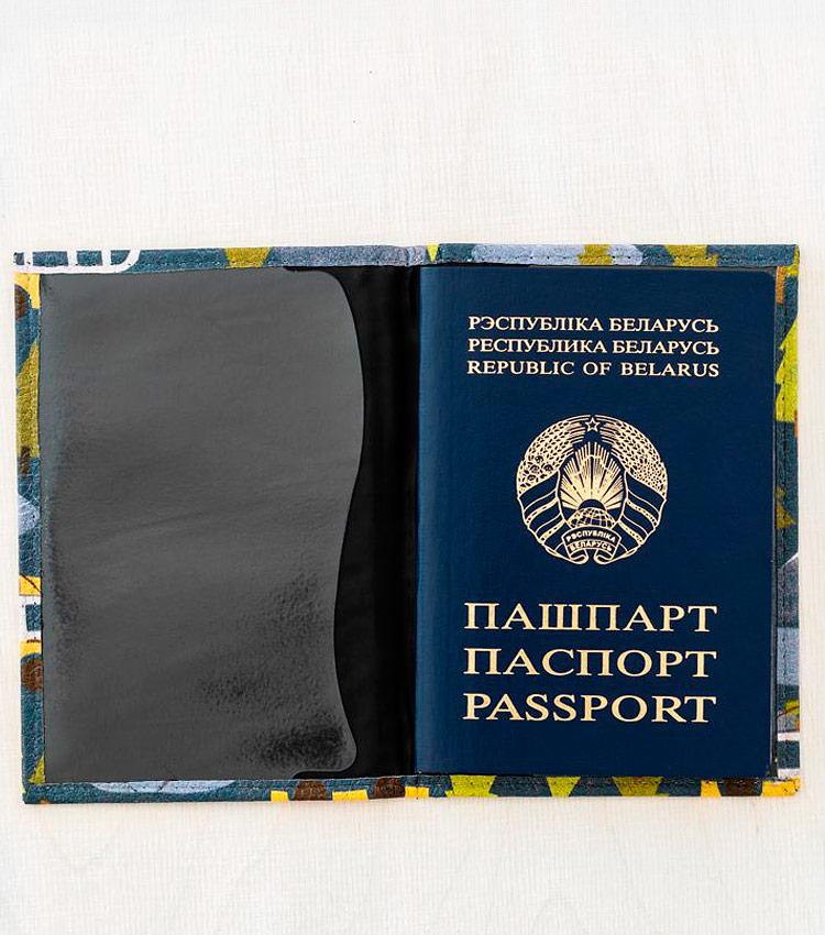 Обложка для паспорта Vokladki «Север»