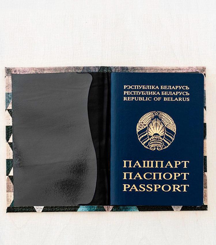 Обложка для паспорта Vokladki «Сталь»