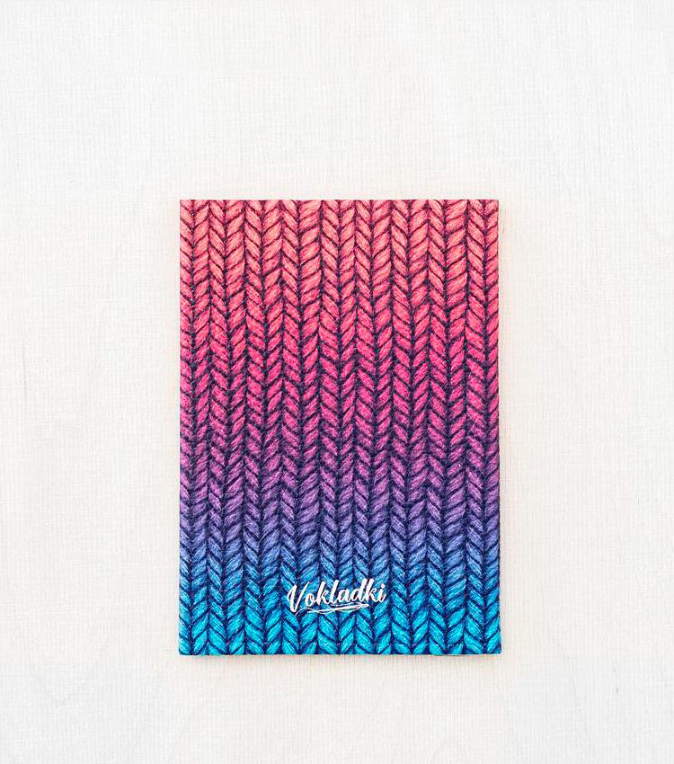 Обложка для паспорта Vokladki «Трикотаж»
